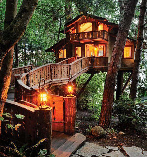 Beautiful Tree-House, Santa Monica ~ California